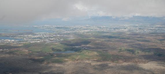 Reykjavik flygbild