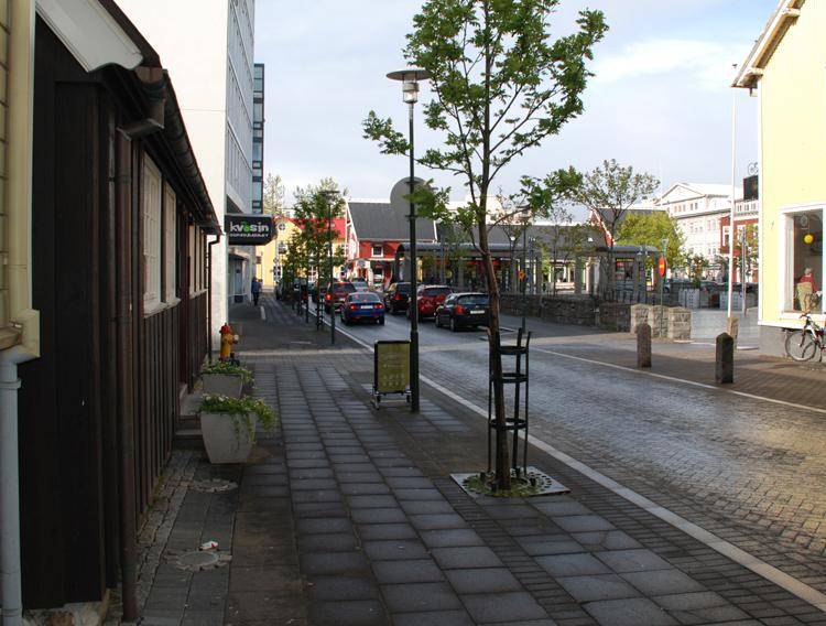 Utsikt mot Ingolfstorg