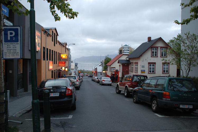 Gatubild, Reykjavik