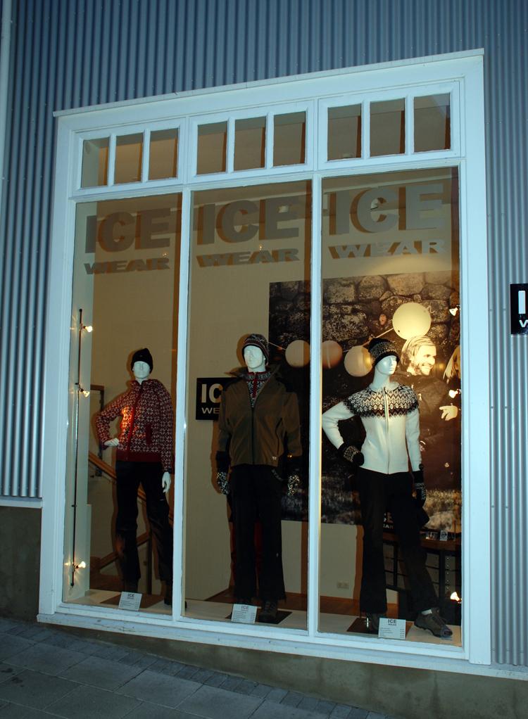 Butik i Reykjavik