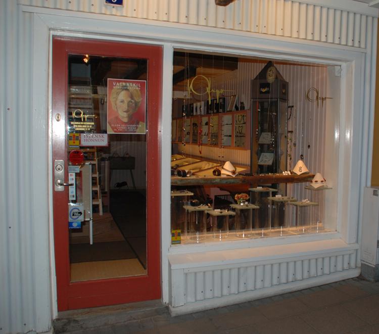 Butik som säljer smycken