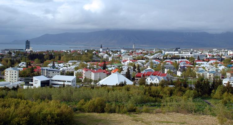 Utsikt från Perlan