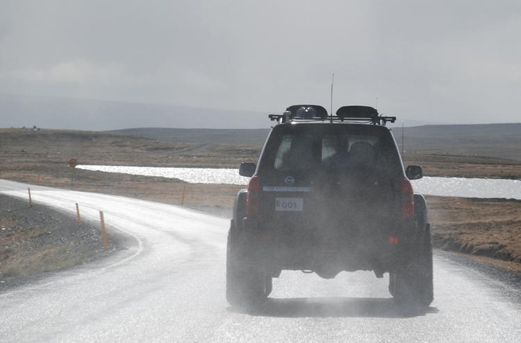 Isländsk landskap. Vår vägvisare.
