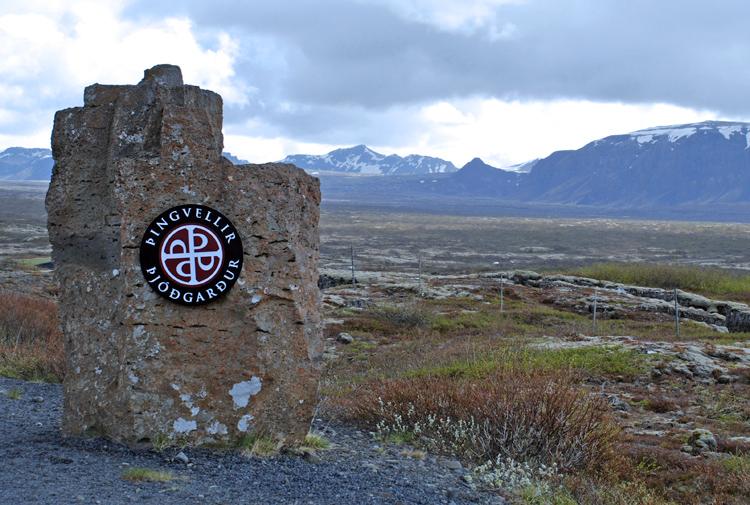 Thingvellir nationalpark.