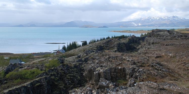 Thingvellir nationalpark och Tingvellerivatn