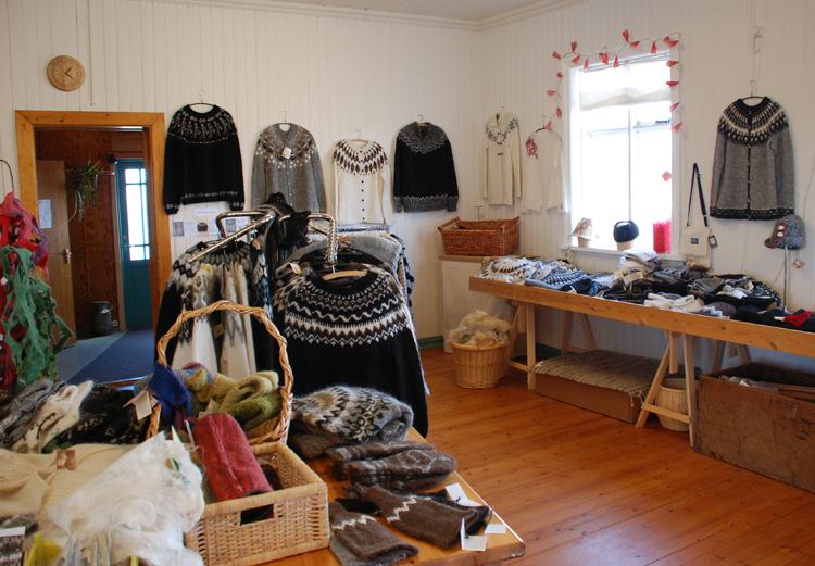 Islandströjor är en säker inkomstkälla för många butiker