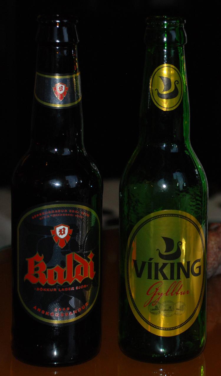 Viking verkar vara den som dricks mest. En ljus lättdrucken lager.