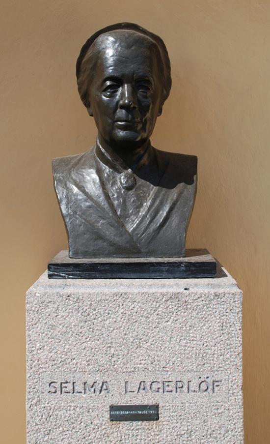 Selma Lagerlöf, av Astri Taube
