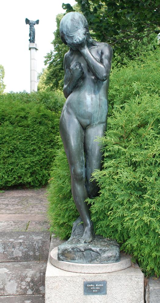 """""""Eva"""", av Carl Eldh."""