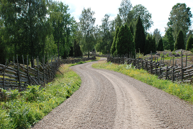 Svenska kulturbilder - Stensjö by