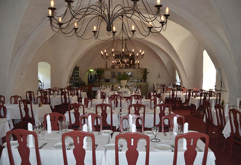 Matsalen i klosterhotellet