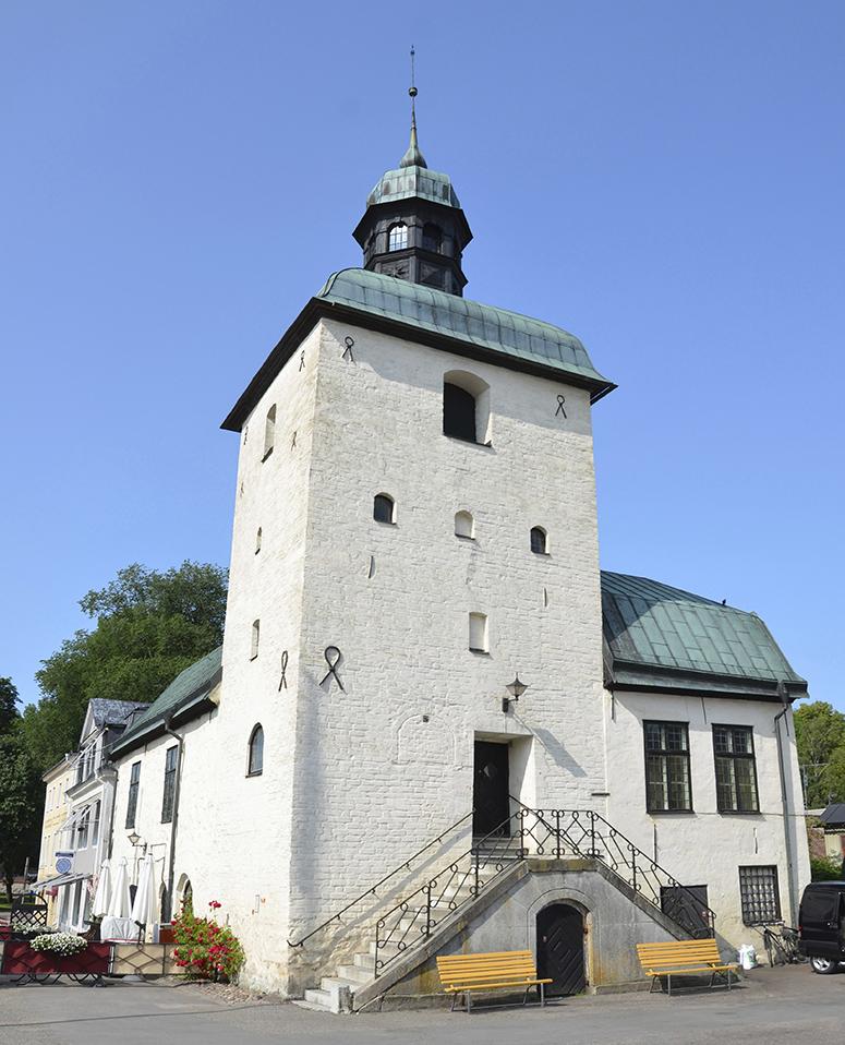 Rådhuset från 1400-talet.