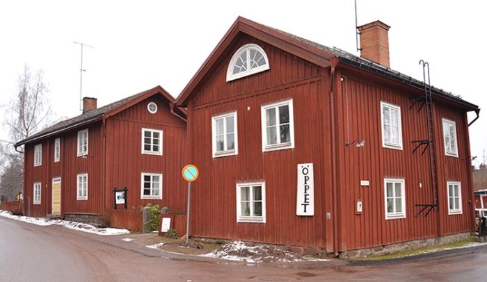 Abrahamsgården består av flera hus