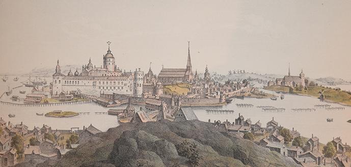 Stockholm från norra sidan