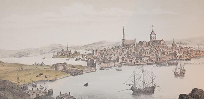 Stockholm från södra sidan