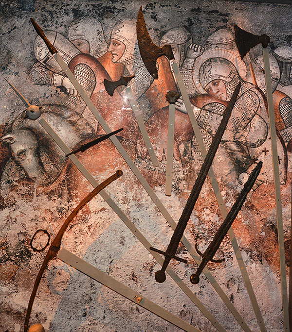 1 800 personer dog i en brutal strid om Gotland år 1361