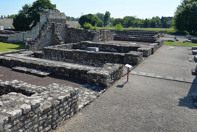 Ruiner efter den romerska staden Aquincum Fler bilder från Aquincum finns här.