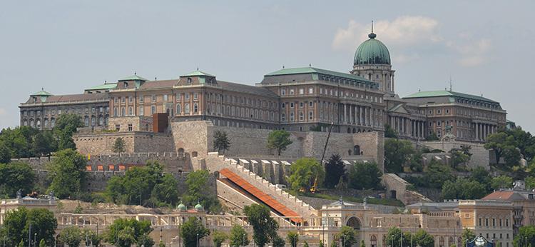 Slottet, som idag är Nationalmuseum