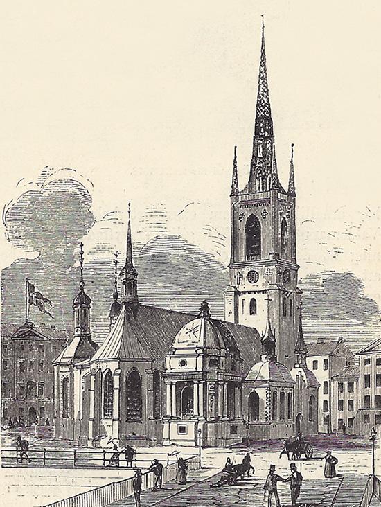 Riddarholmskyrkan 1847