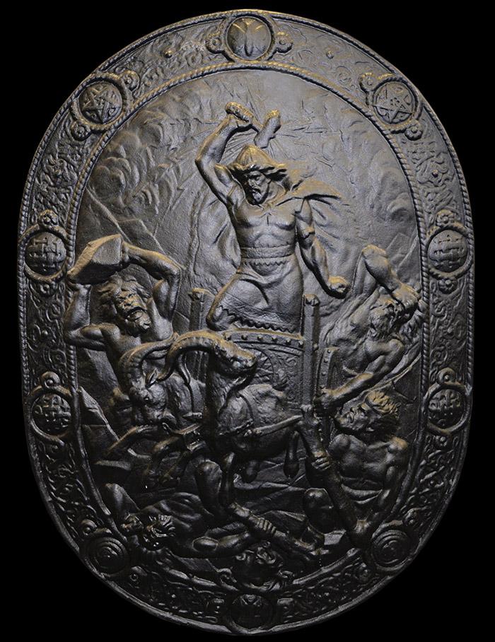 Järnsköld, Tors strid med jättarna