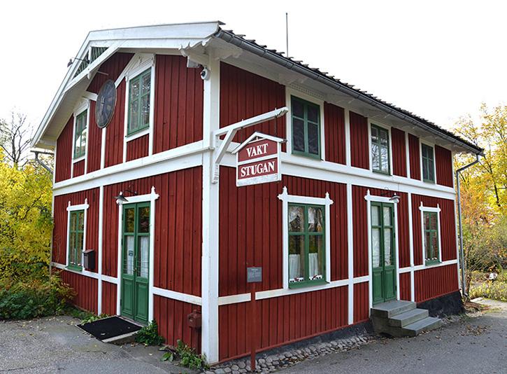 Vaktstugan på Skansen