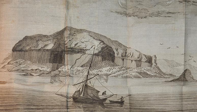 Corvorants grotta på Staffa