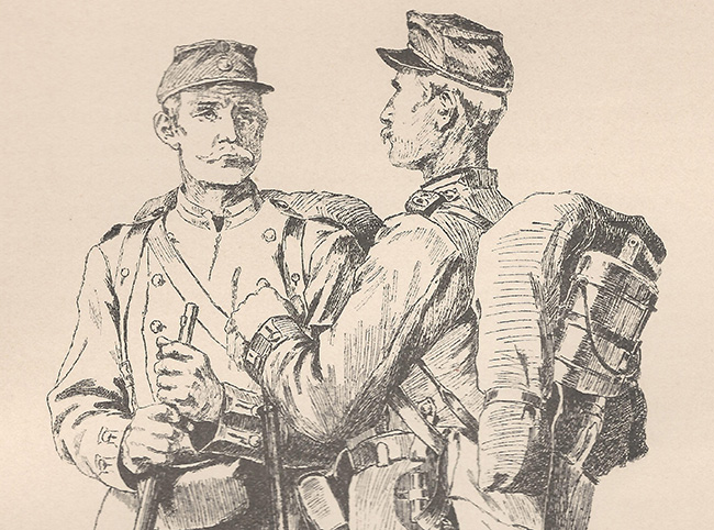 Svenska soldater