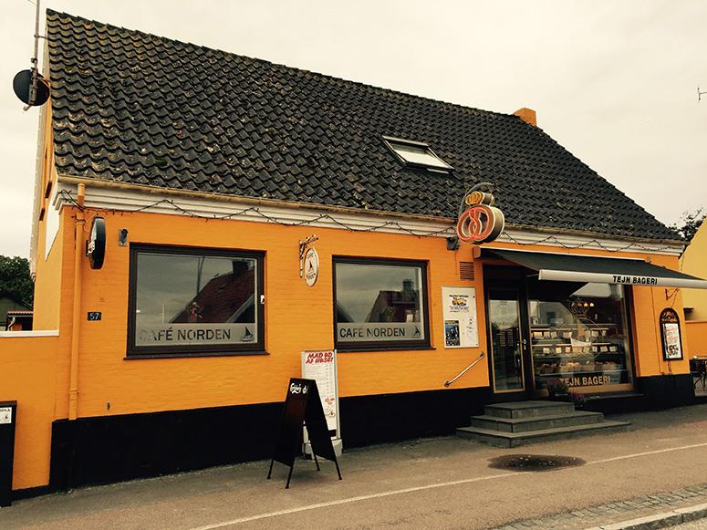 Café Norden på norra kustvägen